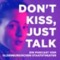 Don't kiss, just talk