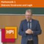 Mathematik I - Diskrete Strukturen und Logik (WS 2017/18) - tele-TASK