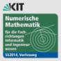 Numerische Mathematik für die Fachrichtungen Informatik und Ingenieurwesen, Vorlesung, SS2014