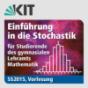 Einführung in die Stochastik für Studierende des gymnasialen Lehramts Mathematik, SS2015, Vorlesung Podcast Download