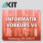 Informatik Vorkurs V4, Vorlesung, WS16-17