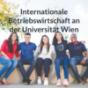 Internationale Betriebswirtschaft an der Universität Wien