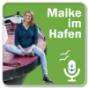 Maike im Hafen - Hamburger Elbinsel-Tour