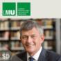LMU-Präsident Huber im Gespräch