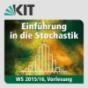 Einführung in die Stochastik, WS15/16, Vorlesung Podcast Download