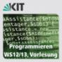 Programmieren, WS12/13, Vorlesung Podcast Download