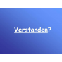 Verstanden? Podcast Download
