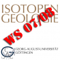 B-WP-03 Isotopengeologie (TM 2: Stabile Isotope) Podcast Download