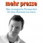Mehr Presse -Was strategische Pressearbeit für dein Business tun kann Podcast Download