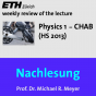 Nachlesung Physics 1 CHAB (HS13) - M4A Podcast Download