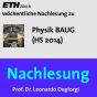 Nachlesung Physik BAUG (HS14) - M4A Podcast Download