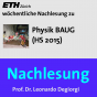 Nachlesung Physik BAUG (HS15) - M4A Podcast Download