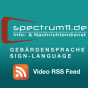 spectrum11 - Gebärdensprache mit Untertitel Podcast Download