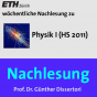 Nachlesung Physik I (HS11) - M4A Podcast Download