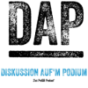 Podcast : Diskussion auf'm Podium