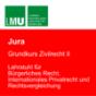 LMU Grundkurs Zivilrecht II - Lehrstuhl für Bürgerliches Recht, Internationales Privatrecht und Rechtsvergleichung