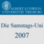 Die Samstags-Uni 2007 Podcast Download