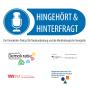 """""""Hingehört und Hinterfragt"""" Podcast Download"""