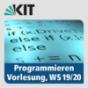 Programmieren, WS19-20, Vorlesung Podcast Download