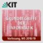 26: Grundbegriffe der Informatik, Vorlesung, WS 2018-19, 06.02.2019 im Grundbegriffe der Informatik, Vorlesung, WS18-19 Podcast Download