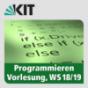 Programmieren, WS18-19, Vorlesung Podcast Download