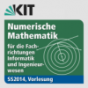 Numerische Mathematik für die Fachrichtungen Informatik und Ingenieurwesen, Vorlesung, SS2014 Podcast Download