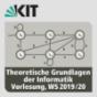 Theoretische Grundlagen der Informatik, Vorlesung, WS19-20 Podcast Download