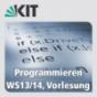 Programmieren, WS13-14, Vorlesung Podcast Download