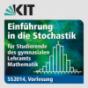 Einführung in die Stochastik für Studierende des gymnasialen Lehramts Mathematik, SS2014, Vorlesung Podcast Download