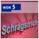 Schrägstrich im WDR 5 - Radio zum Mitnehmen