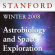 Astrobiology and Space Exploration (Winter 2008)