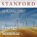 Stanford - Energy Seminar (Spring 2007)