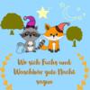 Wo sich Fuchs und Waschbär gute Nacht sagen