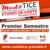 med@TICE PAES Premier Semestre 2010/2011 - Video - Faculté de Médecine et de Pharmacie de Grenoble - Université Joseph Fourier Grenoble 1 (UJF)