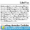 Sammlung deutscher Gedichte by Various