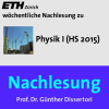 Nachlesung Physik I (HS15) - M4A Podcast Download