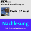 Nachlesung Physik I (HS14) - M4A Podcast Download