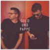 Gold und Pappe