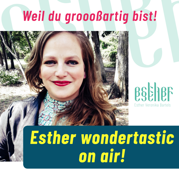Esther wondertastic on air!