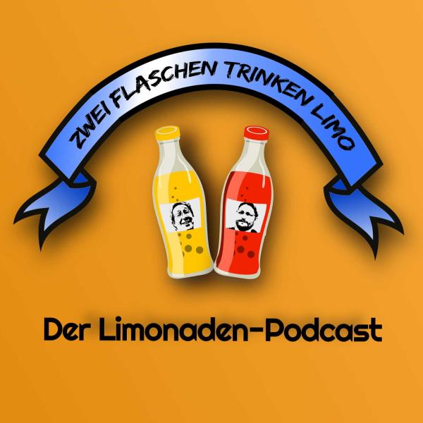 Zwei Flaschen trinken Limo