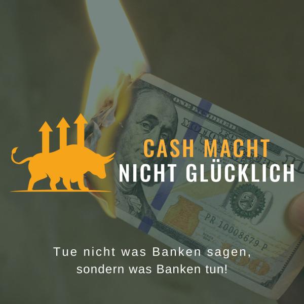 Cash macht nicht glücklich