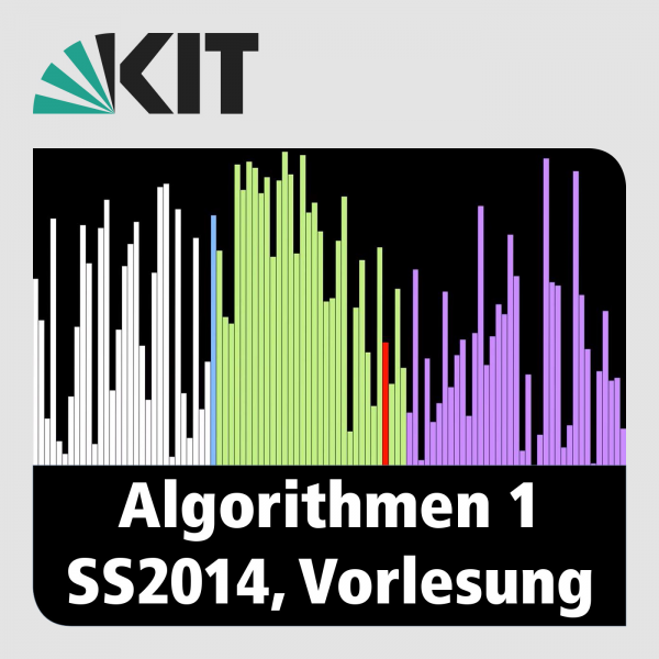 Algorithmen 1, SS2014, Vorlesung
