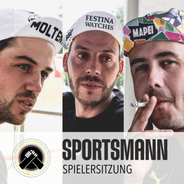 Sportsmann Spielersitzung