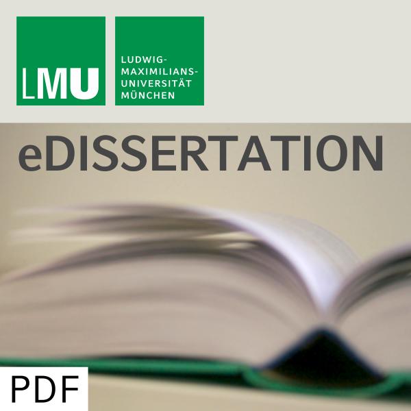 Fakultät für Biologie - Digitale Hochschulschriften der LMU - Teil 01/06
