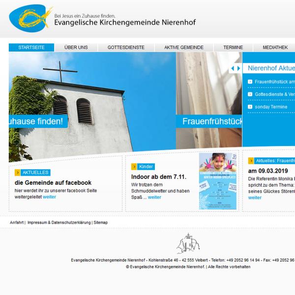 Predigten Gemeinde Nierenhof