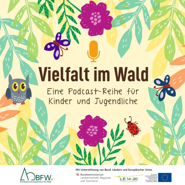 Vielfalt im Wald   Eine Podcast-Reihe für Kinder und Jugendliche