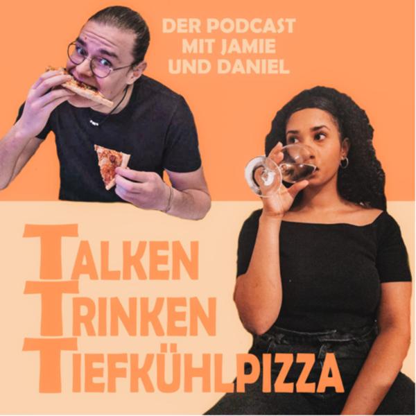 Talken Trinken Tiefkühlpizza