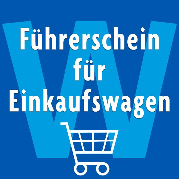 Führerschein für Einkaufswagen