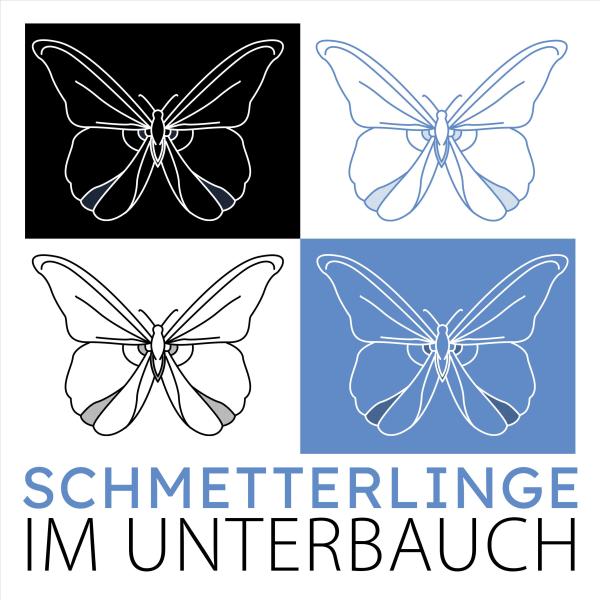 Schmetterlinge im Unterbauch