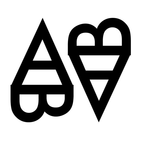 A trifft B (A trifft B)